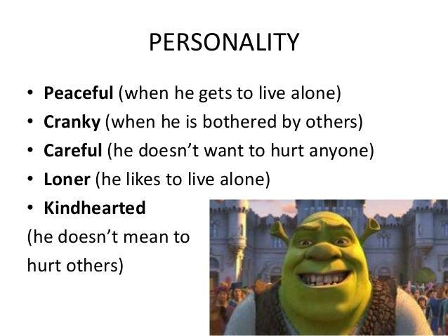 Characteristics analysis essay