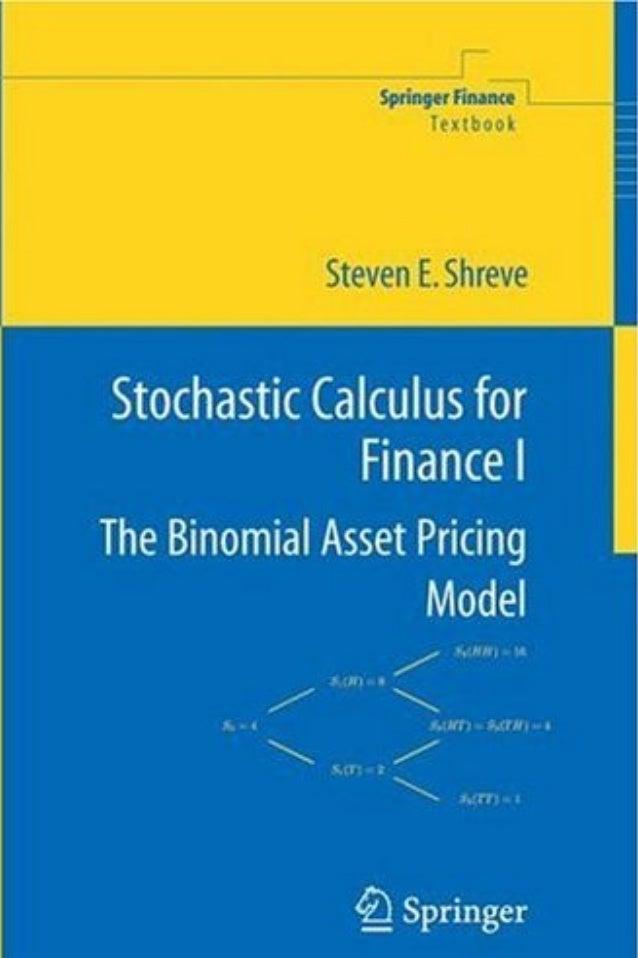 Shreve, Steven - Stochastic Calculus for Finance I: The Binomial Asse…