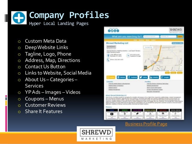 Shrewd Marketing Internet Directories & Digital Media Technology