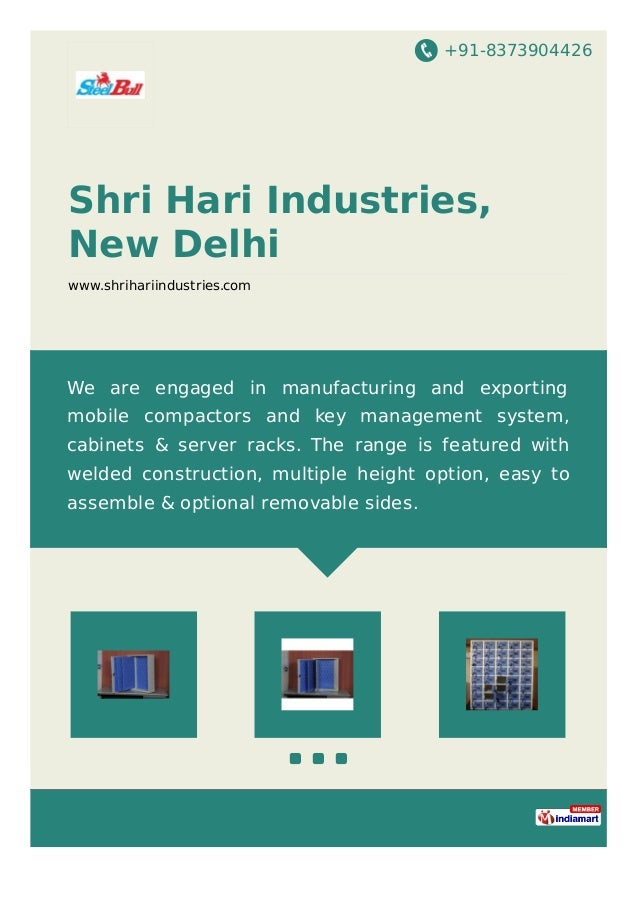 +91-8373904426 Shri Hari Industries, New Delhi www.shrihariindustries.com We are engaged in manufacturing and exporting mo...