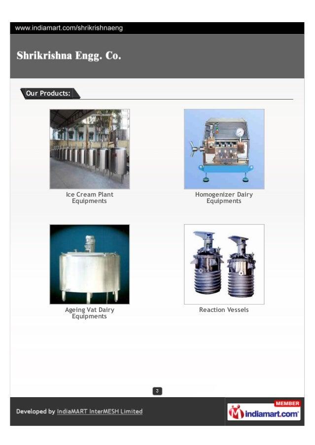 Shrikrishna Engg. Co., Nashik, Industrial Process Equipment Slide 3