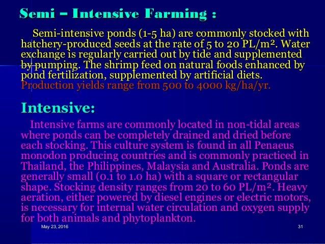 Shrimp Culture: Culture of Tiger Shrimp (Penaeus monodon)
