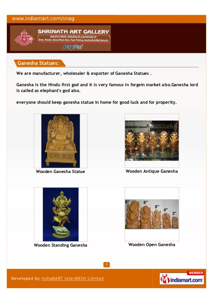 Shrinath Art Gallery, Jaipur, Wooden Jaali Work Animal Slide 3