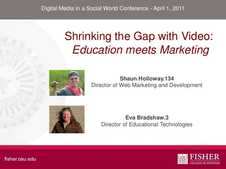 Education Marketing Video Production Matrix