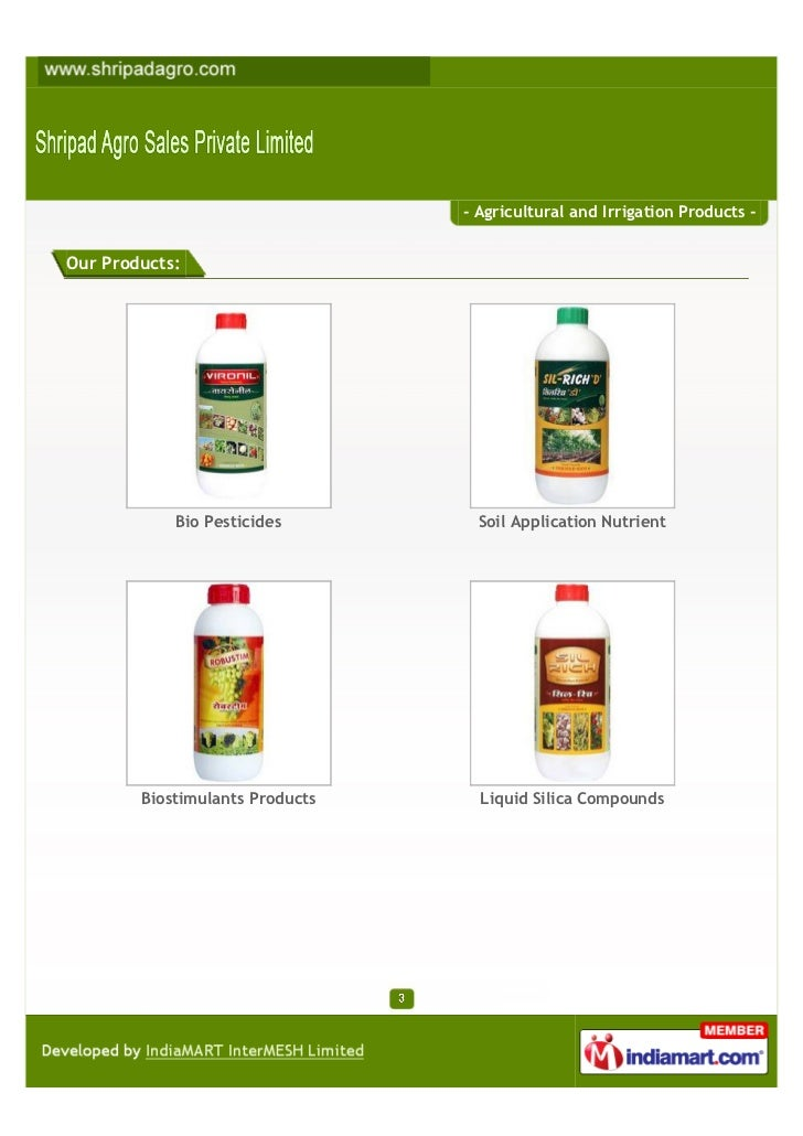 Shripad Agro Sales Private Limited, Nashik, Irrigation Products Slide 3