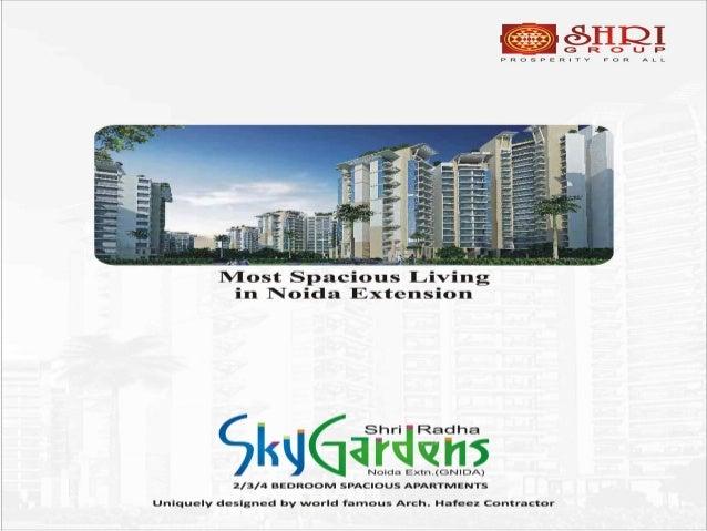 Shri Radha Sky gardens Noida Extension @ 91-9811244882