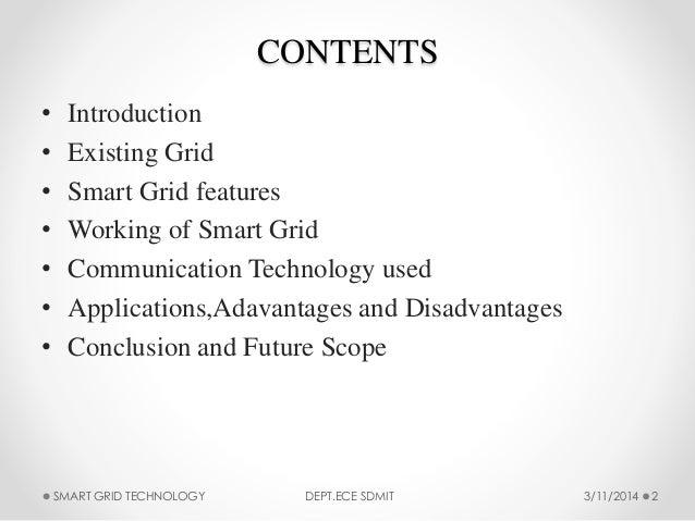 Smart Grid Technology Slide 2