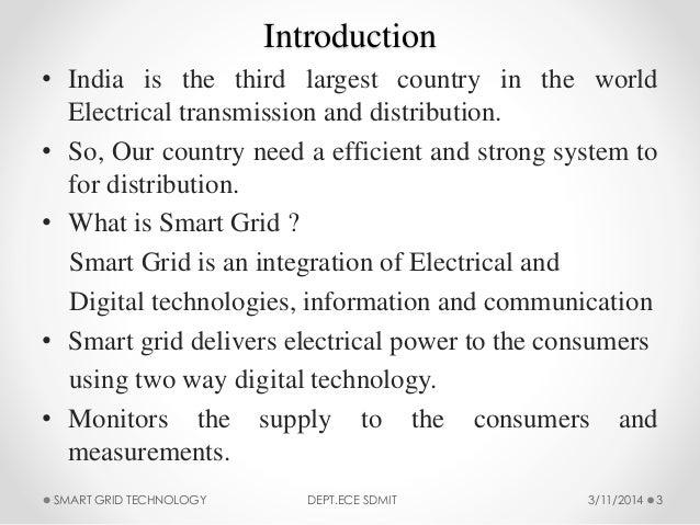 Smart Grid Technology Slide 3