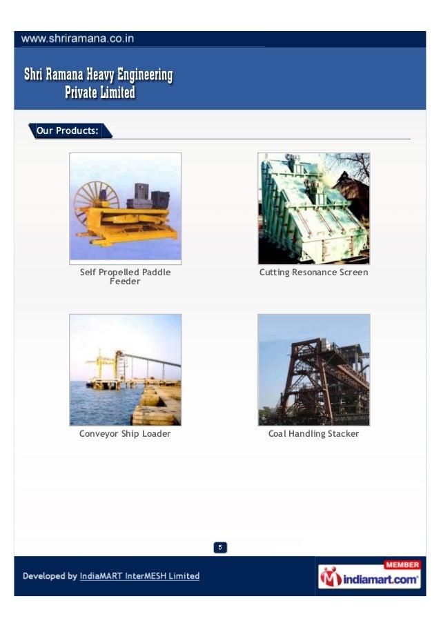 Shri Ramana Heavy Engineering Private Limited Chennai