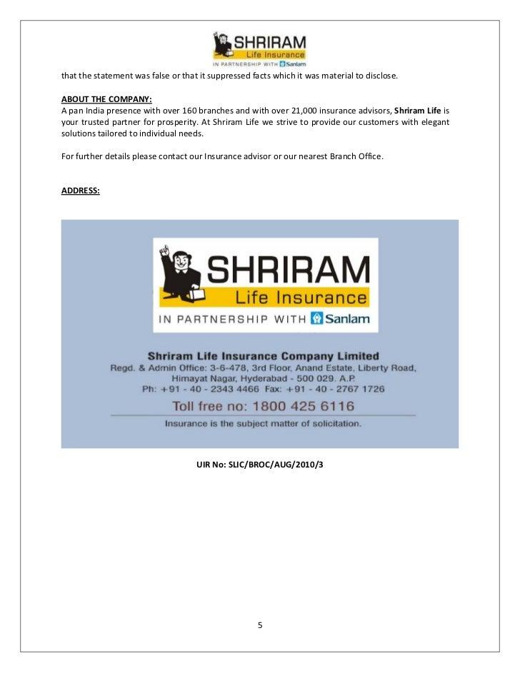Shri vidya shriram life