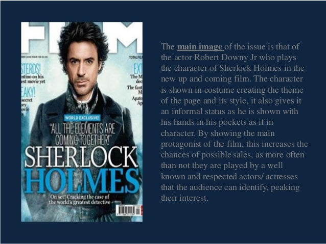 sherlock holmes analysis Analysis of sherlock holme's character as a detective.