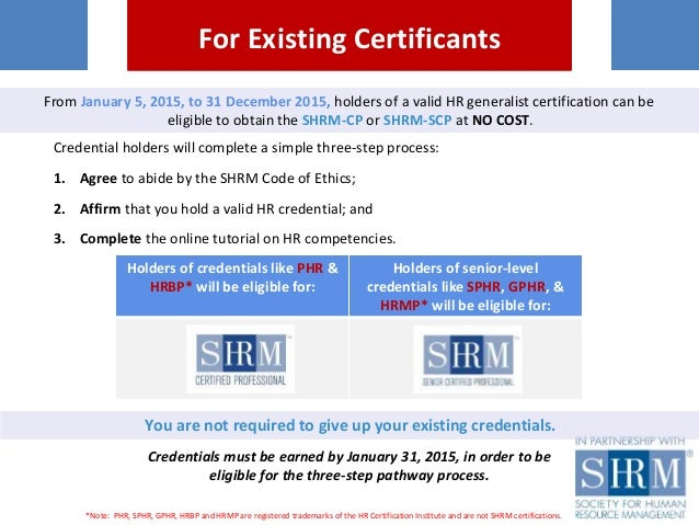 shrm-cp and shrm-scp certifications: a new global standard in hr comp…