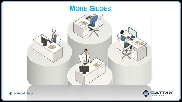 MORE SILOES @SatrixSolutions