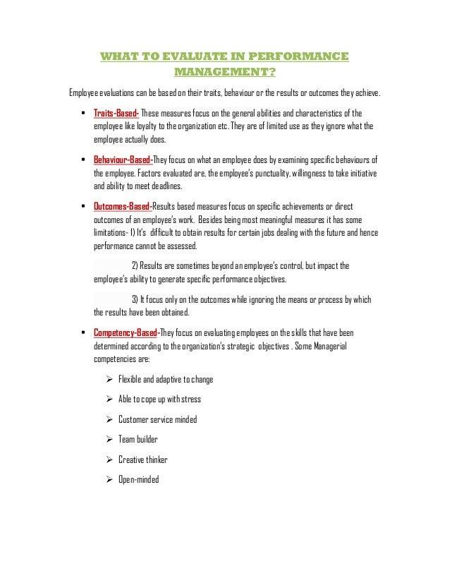 Performance Management and Feedback - SHRM Slide 3