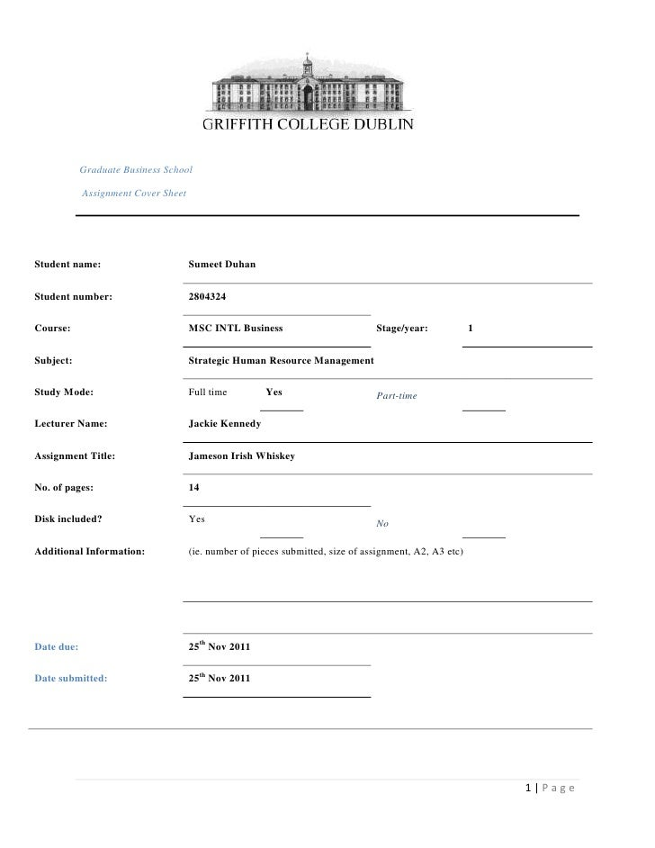 Graduate Business School            Assignment Cover SheetStudent name:                        Sumeet DuhanStudent number:...