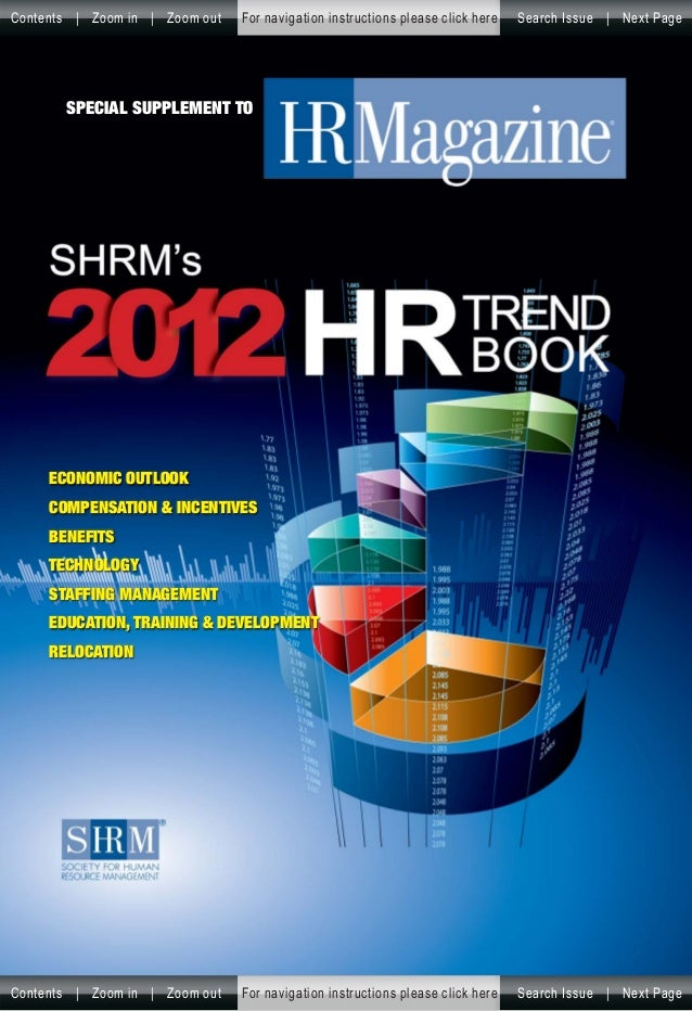 SHRM HR Trend Book (2012)
