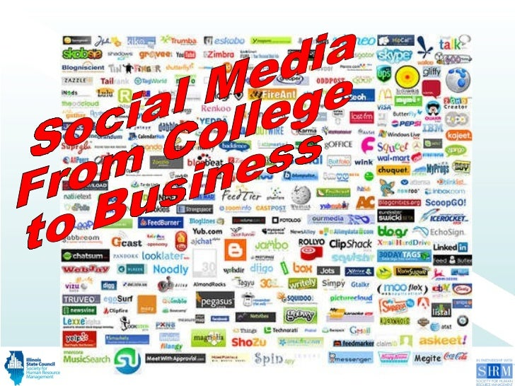 Social Media From College to Business