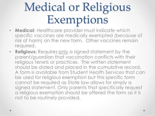 Shs immunizations