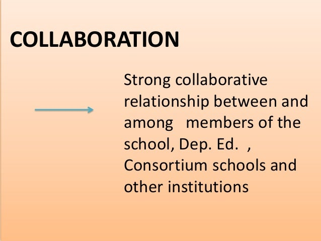 building relationship among school community parents and other stakeholders
