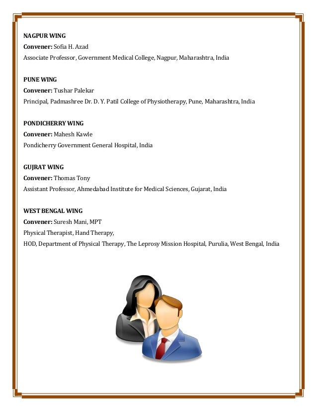 NAGPUR WING Convener: Sofia H. Azad Associate Professor, Government Medical College, Nagpur, Maharashtra, India PUNE WING ...