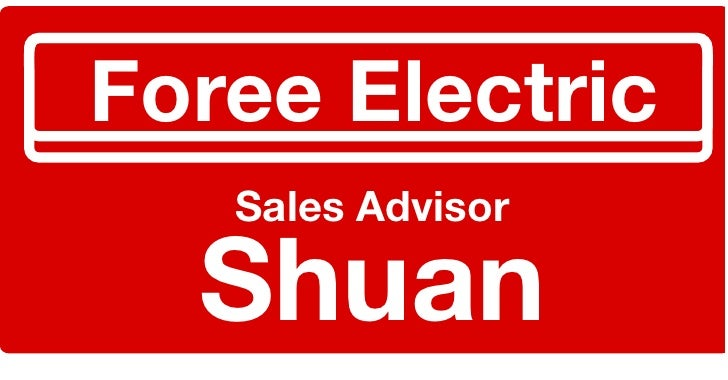 Foree	   Electric     Sales	   Advisor     Shuan