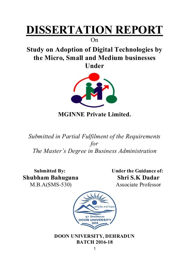 Mobile adopter phd thesis