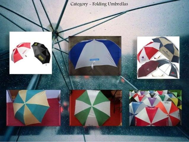 Category - Folding Umbrellas