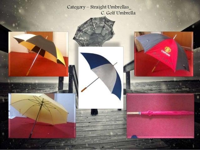 Category – Straight Umbrellas_ C. Golf Umbrella