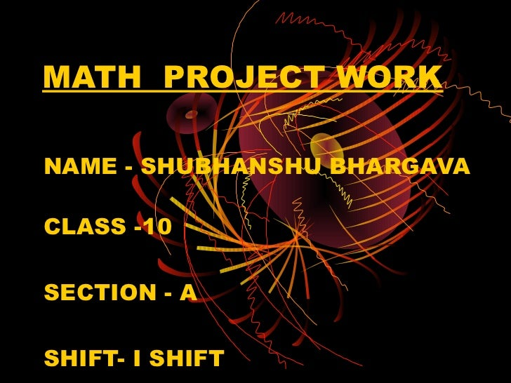 Shubhanshu math project work , polynomial