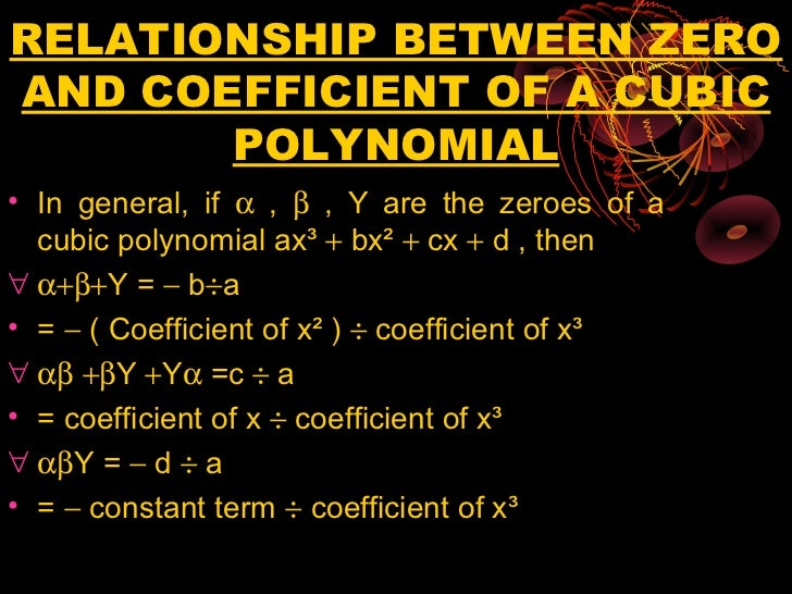 coefficient and polynomial Algebra examples step-by-step examples algebra simplifying polynomials the leading coefficient in a polynomial is the coefficient of the leading term.