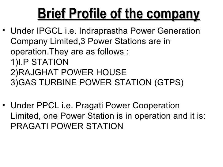 IPGCL/PPCL Training presentation Slide 3