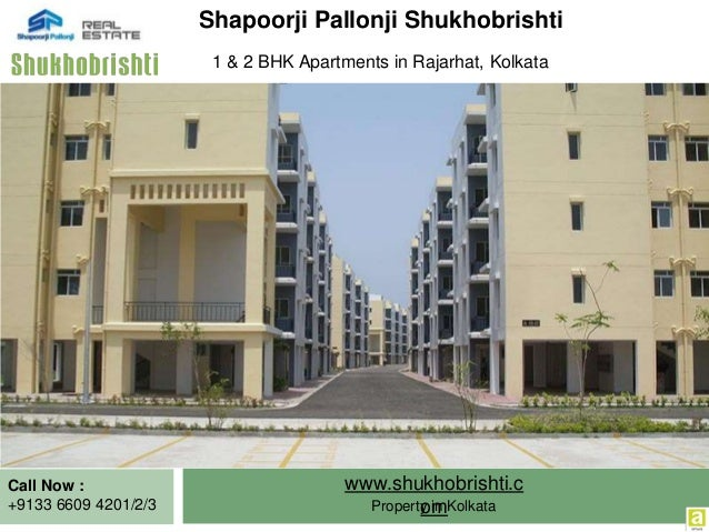 1 BHK and 2 BHK Apartments Rajarhat, Kolkata at Shukhobrishti Slide 2