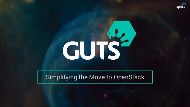 Simplifying the Move to OpenStack