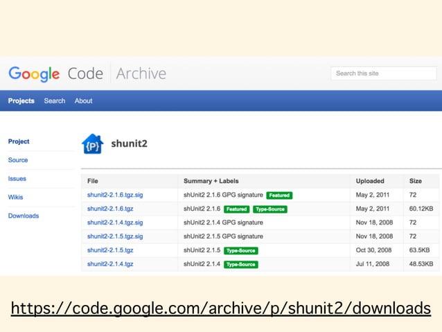 https://code.google.com/archive/p/shunit2/downloads