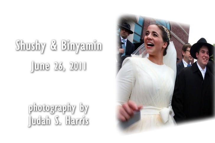 Shushy and Binyamin - wedding