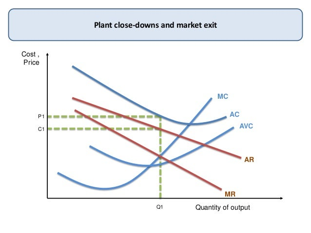 Cost ,PriceQuantity of outputPlant close-downs and market exitMCACAVCARMRQ1P1C1
