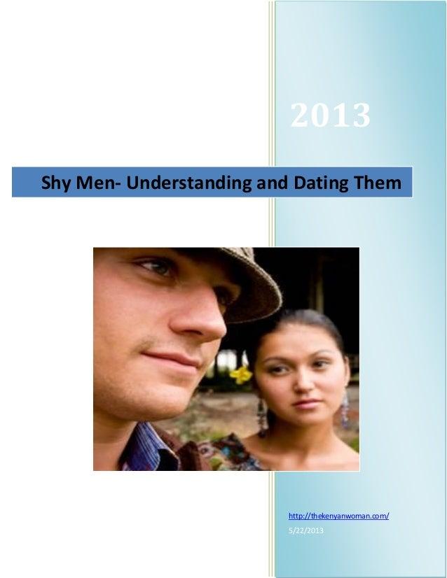 Understanding shy men