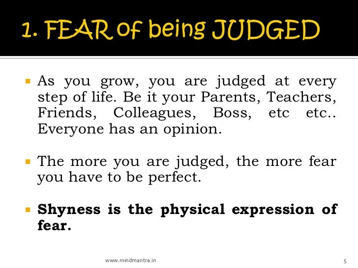    As you grow, you are judged at every    step of life. Be it your Parents, Teachers,    Friends, Colleagues, Boss, etc ...