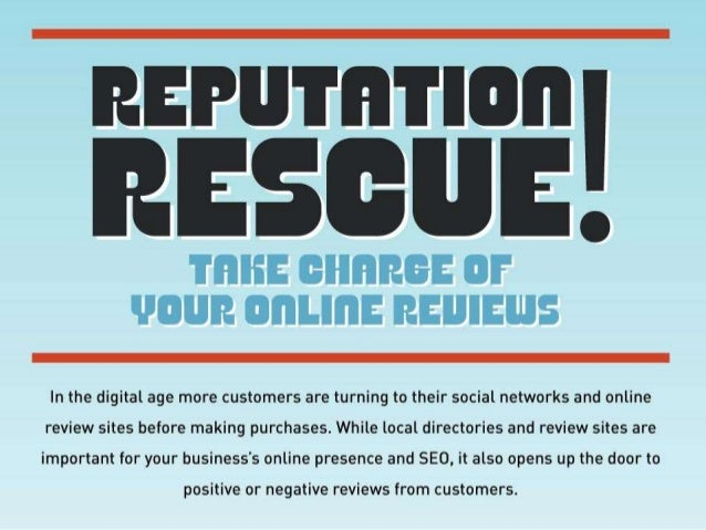 Seach Influence Reputation Rescue