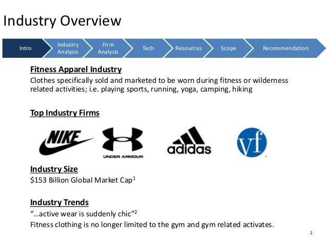 adidas industry analysis Sports or activewear industry  the business of sportswear: nike vs adidas october 06, 2014 the business of sportswear: nike vs adidas author of the analysis.