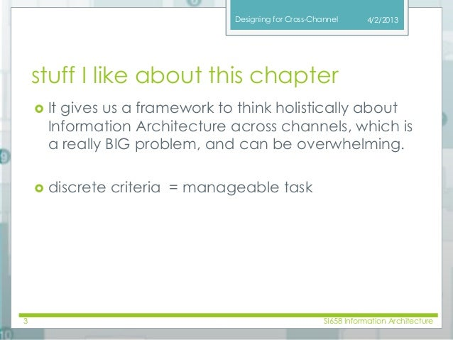 Information Architecture class13 04 10 Slide 3