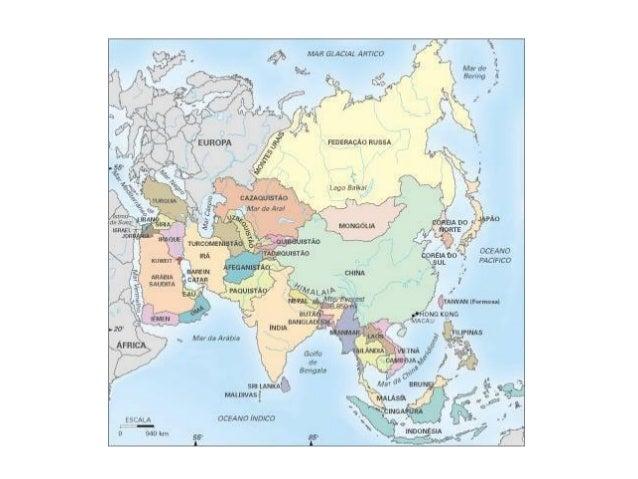 O continente mais populoso do mundo com 3,95 bilhões de habitantes (pouco mais de 60% da população mundial).