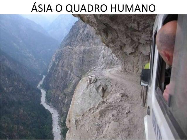 ÁSIA O QUADRO HUMANO