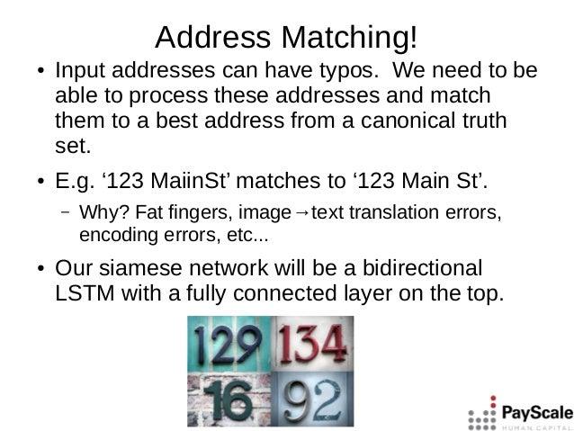 Siamese networks