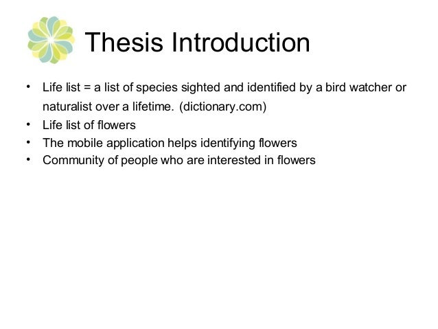 thesis mobile application The thesis evaluation inventory mobile app is ideal for students, teachers, professors, and thesis supervisors to evaluate thesis or dissertation statements this app can also be customized for other formative evaluations for other written works, including a thesis proposal the app provides a .