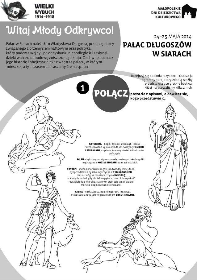 24–25 MAJA 2014 PAŁAC DŁUGOSZÓW W SIARACH Witaj Młody Odkrywco! Pałac w Siarach należał do Władysława Długosza, przedsiębi...
