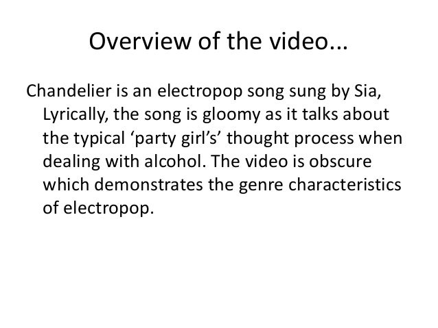 Sia video analysis video analysis sia chandelier 2 mozeypictures Image collections