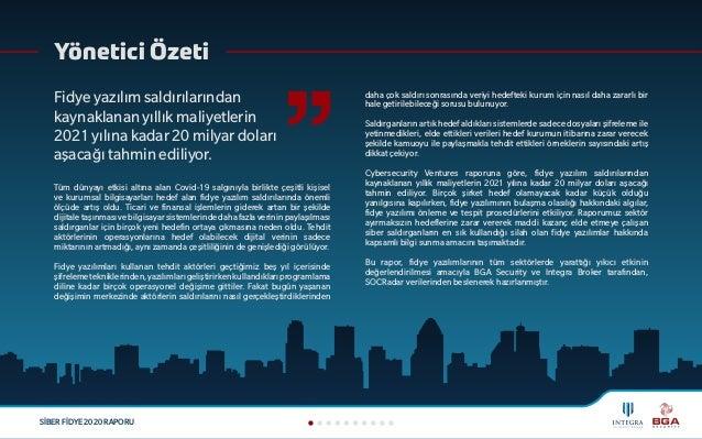 Siber Fidye 2020 Raporu Slide 2