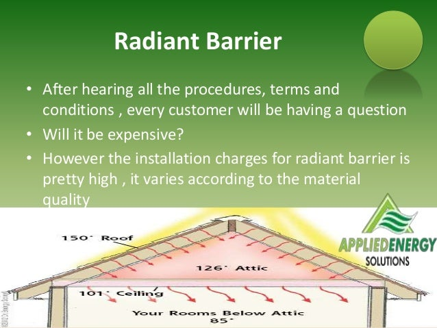 Types Of Insulation Rebates Radiant Barrier Applied