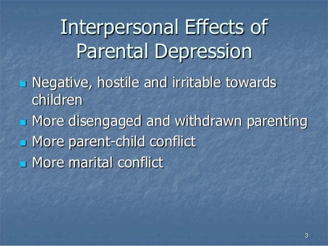 bad effects of early relationship among youhts Effects of parents on crime rates 1 separation from the mother, especially between six months and three years of age, can lead to long-lasting negative effects on behavior and emotional development among these youths.